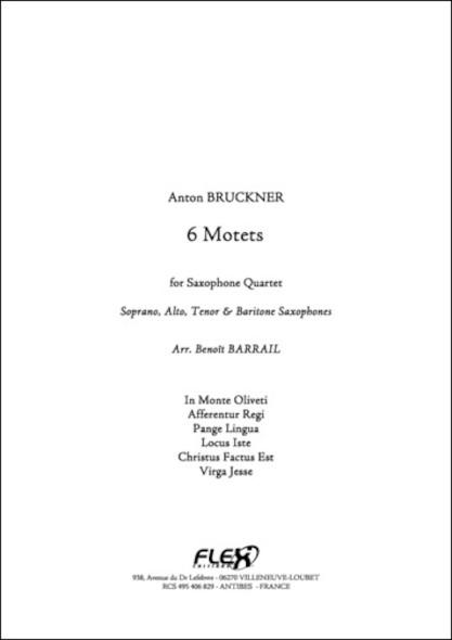 6 Motets - A. BRUCKNER - Quatuor de Saxophones