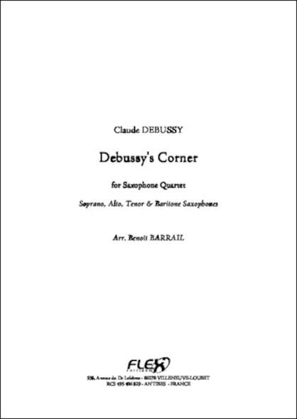 Debussy's Corner - C. DEBUSSY - Quatuor de Saxophones