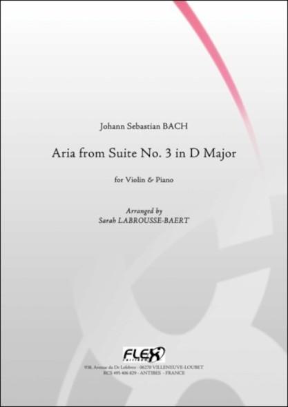 Aria de la Suite No. 3 en Ré Majeur - J. S. BACH - Violon et Piano