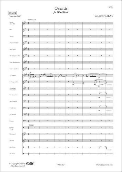 Ovantis - G. FRELAT - Orchestre d'Harmonie