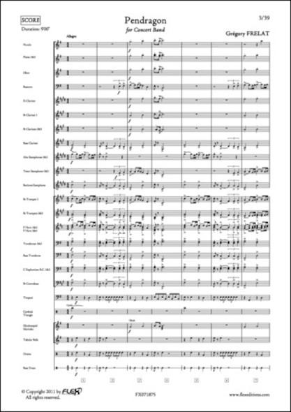 Pendragon - G. FRELAT - Orchestre d'Harmonie