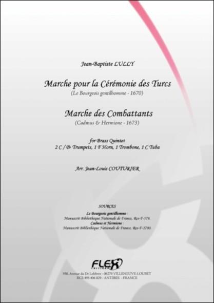 Deux Marches - J.-B. LULLY - Quintette de Cuivres