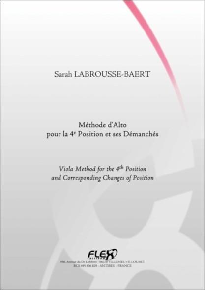 METHODE - Méthode d'Alto pour la 4e Position - S. LABROUSSE-BAERT - Alto Solo