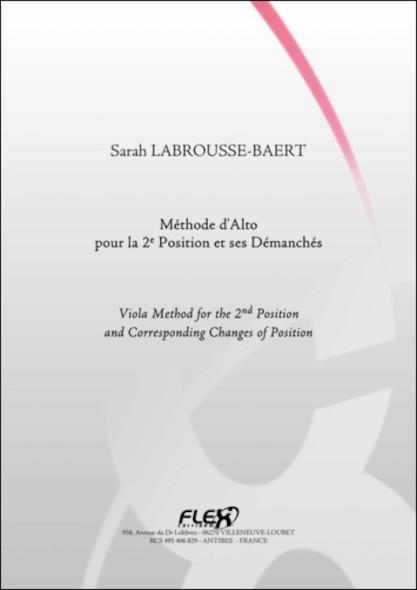 METHODE - Méthode d'Alto pour la 2e Position - S. LABROUSSE-BAERT - Alto Solo