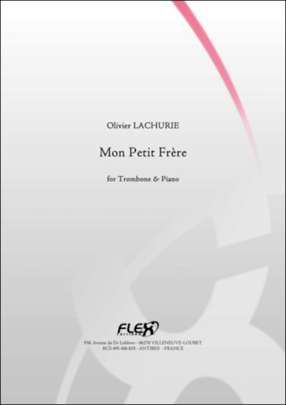 Mon Petit Frère - O. LACHURIE - Trombone et Piano