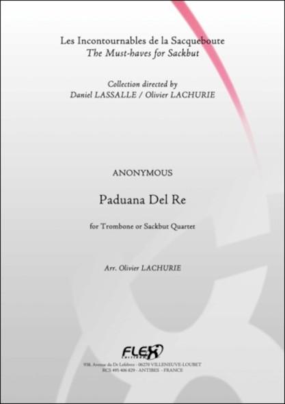 Paduana Del Re - ANONYME - Quatuor de Trombones