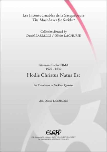 Hodie Christus Natus Est - G. P. CIMA - Quatuor de Trombones