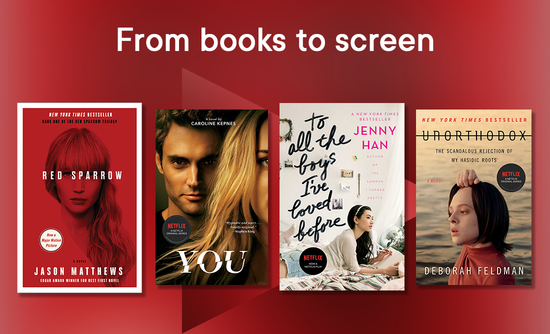 Image From books to screen