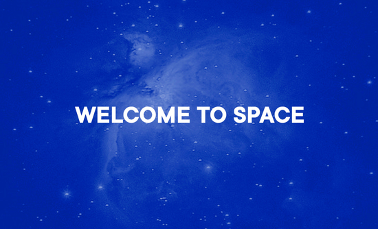 Image Welcome to space